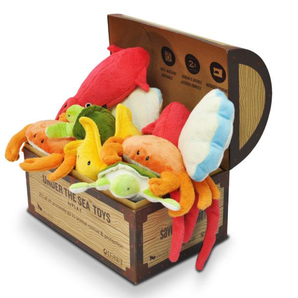 underthesea pet toys