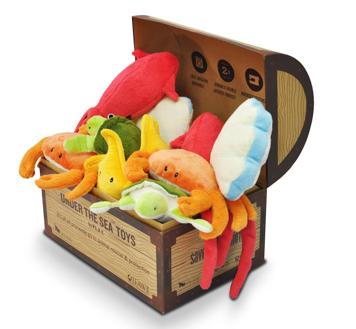 underthesea pet toys